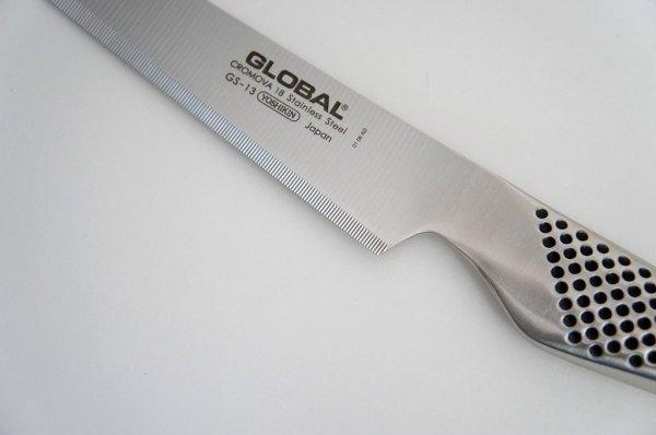 Nóż uniwersalny ząbkowany 15cm Global GS-13