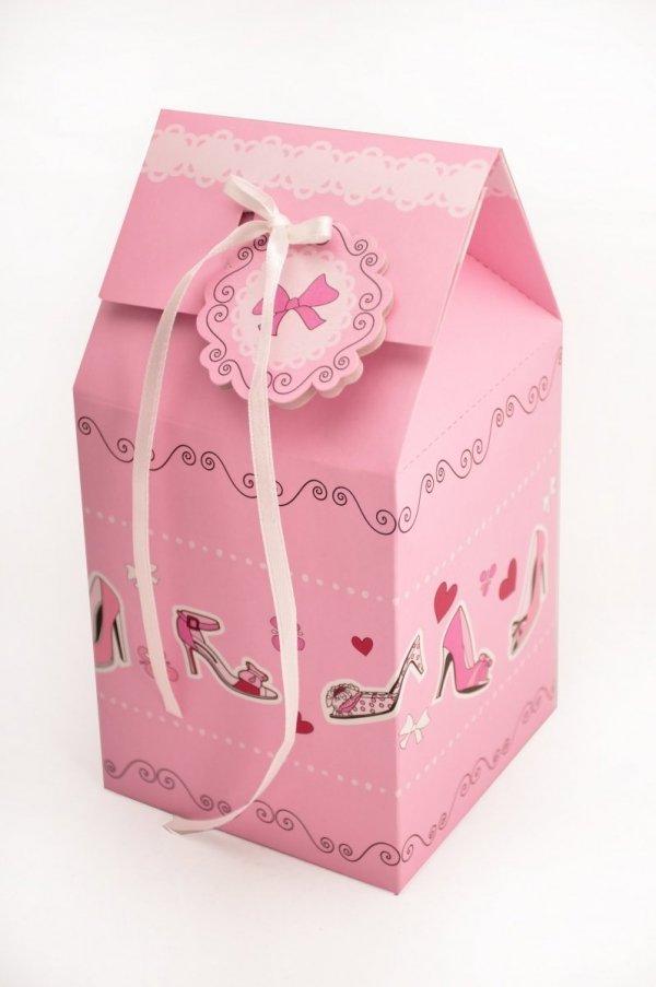 Pudełka prezentowe CAKE IN THE CITY na 1 cupcake - 2 szt. Birkmann
