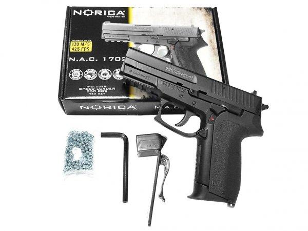 Pistolet wiatrówka Norica N.A.C. 1702 4,5 mm BB CO2