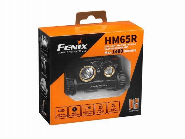 Latarka diodowa Fenix HM65R czołówka
