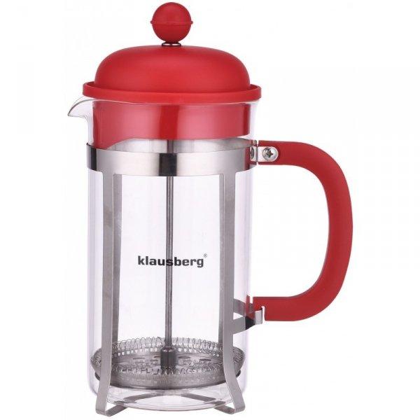 Klausberg Zaparzacz Do Kawy/Herbaty Z Dociskiem 350 Ml Kb-7078