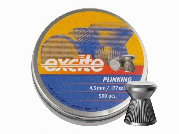 Śrut diabolo H&N Excite Plinking 4,5 mm 500 szt.