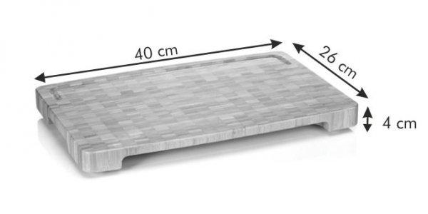 Deska do krojenia 40x26 cm Azza Tescoma