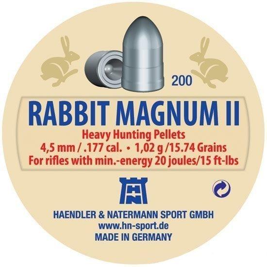 Śrut H&N Rabbit Magnum II 4.5 mm - 200 szt.