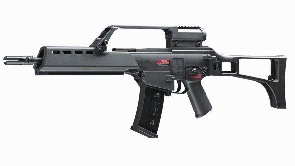 Karabinek ASG Heckler&Koch G36 K 6 mm czarny
