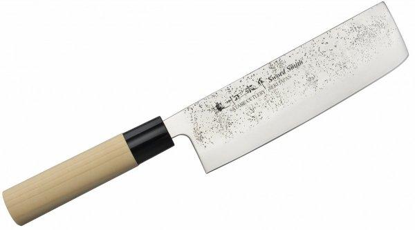 Nóż Nakiri 16 cm Satake Nashiji Natural
