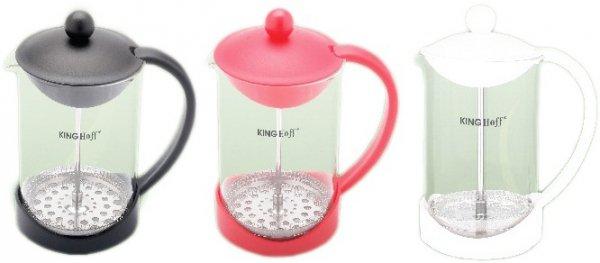 Kinghoff Zaparzacz Do Kawy/Herbaty Z Dociskiem 800ml Kh-4826