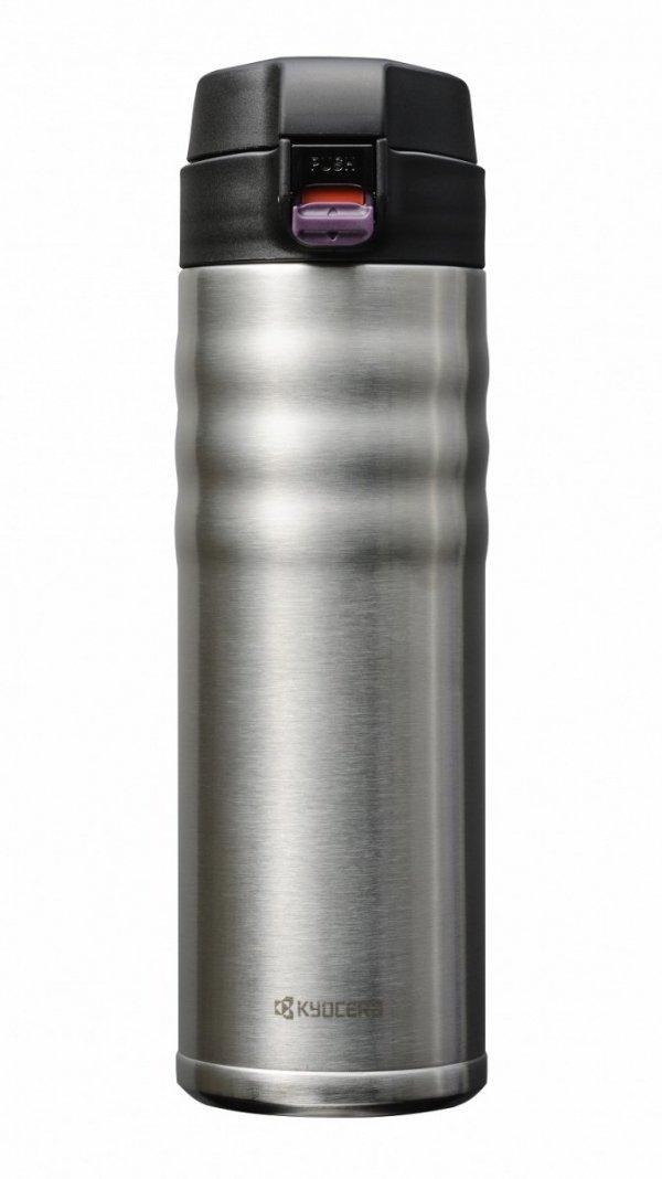 Kyocera Ceramiczny kubek termiczny 500ml Stalowy