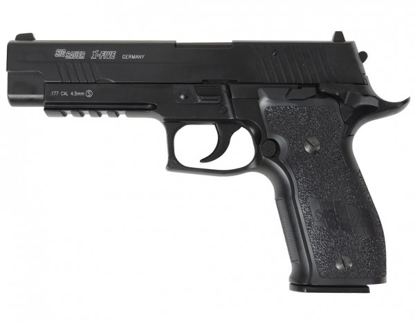 Wiatrówka Cybergun Sig Sauer P226 X-Five BlowBack 4,5 mm (288501)