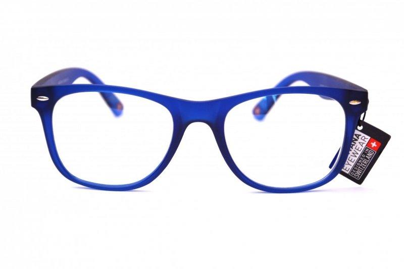 Clever +2,0  - Okulary Korekcyjne do pracy przy komputerze - Niebieskie