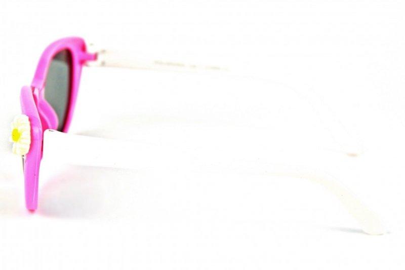 Cherry - Dziecięce Okulary Polaryzacyjne - Różowe