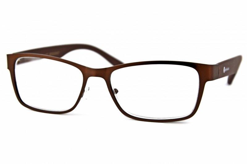 Brown Metal +3,5 - Okulary Korekcyjne