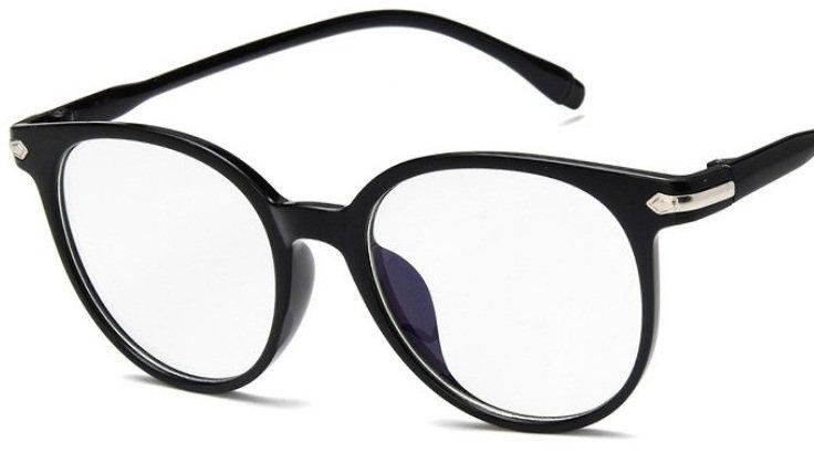 Alice 2.0 - Okulary Zerówki z Antyrefleksem - Czarne
