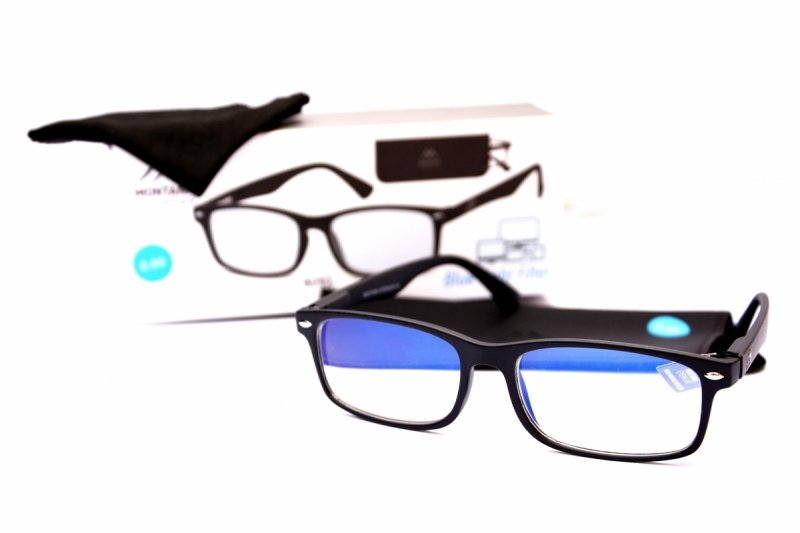 Master - Okulary do pracy przy komputerze - Czarne