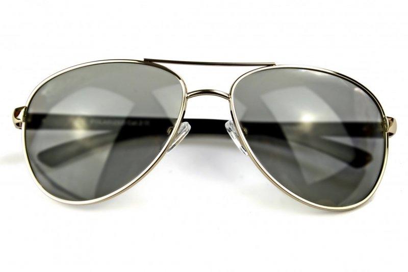 Rich - Okulary Fotochromowe Polaryzacyjne - Srebrne