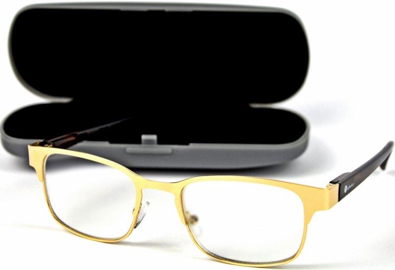 Gold Metal +2,5 - Okulary Korekcyjne