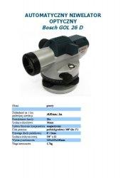 NIWELATOR GOL26D+GR500+BT160