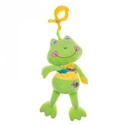 Pozytywka plusz z klipsem żaba