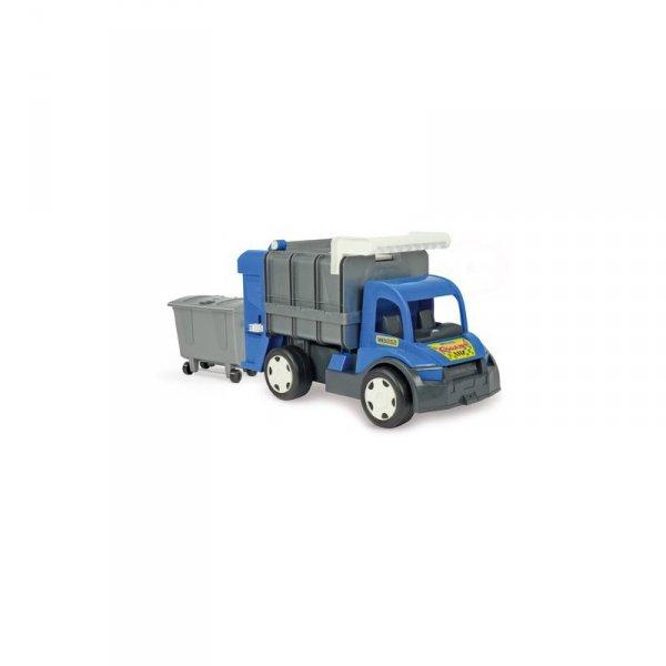 Gigant śmieciarka -blue