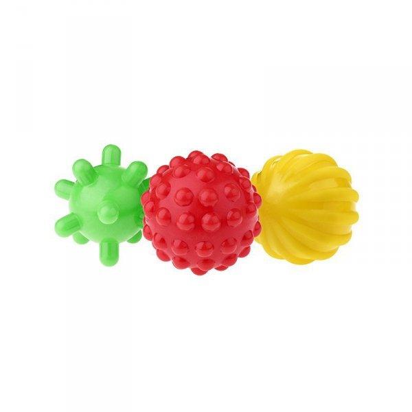 Piłki sensoryczne 3szt