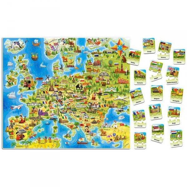 Edukacja e-227 mapa europy