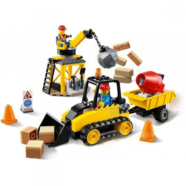 City  buldożer budowlany