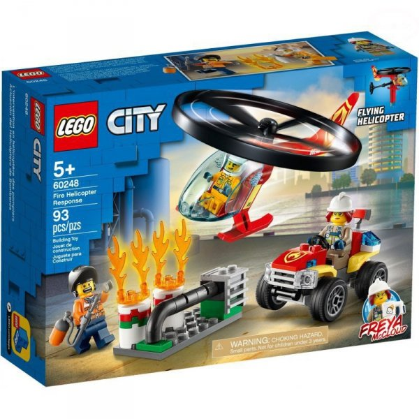 City helikopter strażacki
