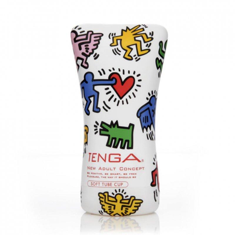 Masturbator - Tenga Keith Haring Soft Tube Cup