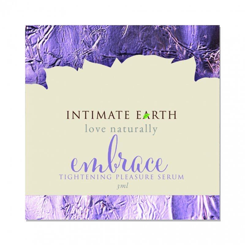Żel ścieśniający pochwę - Intimate Earth Embrace Tightening Pleasure Foil 3 ml SASZETKA