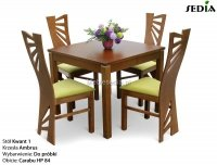 Stół Kwant 1 + 4 krzesła Ambrus