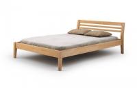 Łóżko drewniane - Bursztyn