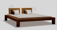 Łóżko drewniane - Matrix