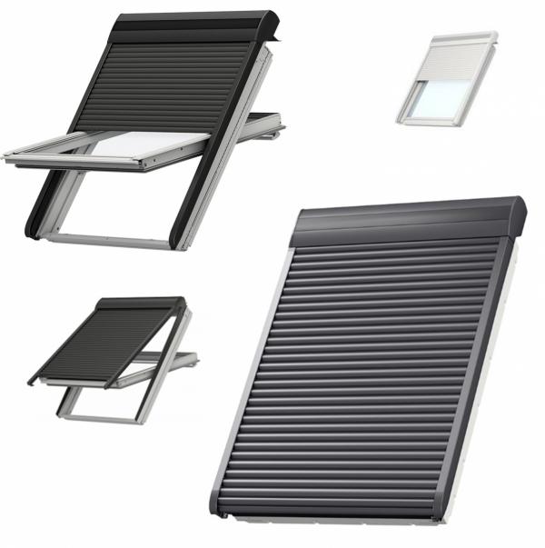 Elektryczna Roleta zewnetrzna Velux SML 0000 standardowe – aluminium
