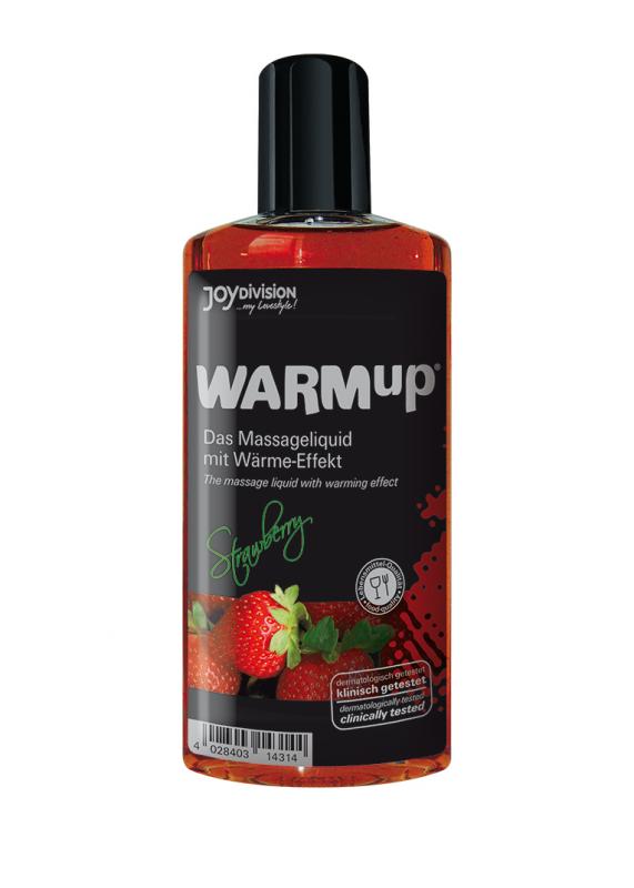 WARMup Strawberry, 150 ml - Olejek do masażu
