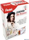 Pastele do tkanin / Zestaw z torbą  PTS7-BN15-T PENTEL