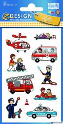 Naklejki ZF Służby porz. 54137 Z-DESIGN KIDS