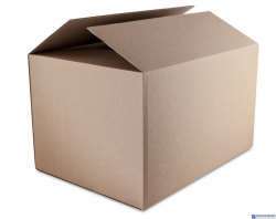 Karton wysyłkowy DATURA 340x253x170 tektura trójwarstwowa szara