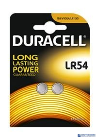Bateria alkaliczna LR54 B2(2szt.) DURACELL 4570115
