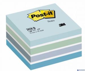 Bloczek 3M POST-IT 2028-B 76x76mm niebieski 450k FT510093212