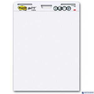 Blok flipchart samoprzylepny biały 30k 3M-21200717321 POST-IT