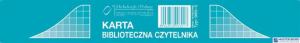 980-5 Karta biblioteczna czyt. (1kpl=50st)MICHALCZYK I PROKOP