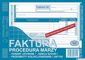 195-3E Faktura procedura marży towary używane A5 (o+1k) MICHALCZYK
