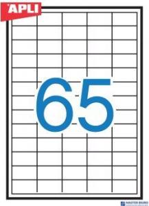 Etykieta AP3052  38x21,2 (100) APLI