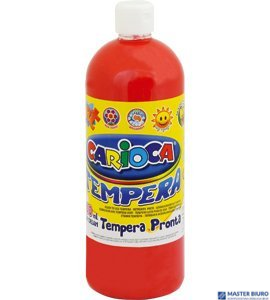 Farba CARIOCA TEMPERA 1000ml czerwona (ko03/08) 170-1444