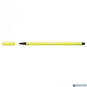 Flamaster STABILO PEN żółty fluo 68/024