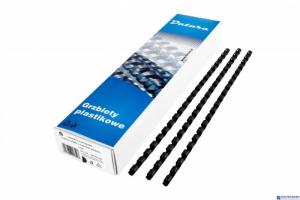 Grzbiet do bindowania DATURA 16mm (100szt) czarny