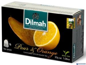 Herbata DILMAH AROMAT GRUSZKA&POMARA 20t*1,5g