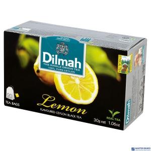 Herbata DILMAH AROMAT CYTRYNY (20 saszetek) 85032 czarna