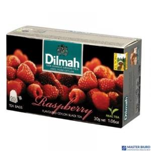 Herbata DILMAH ARONAT MALINY (20 saszetek) 85041 czarna