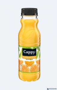 CAPPY Napój pomarańczowy 0.33L butelka PET 984204